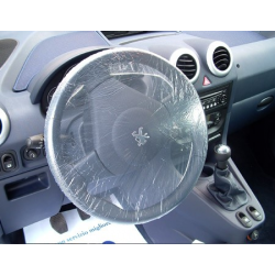Stearing wheel cover
