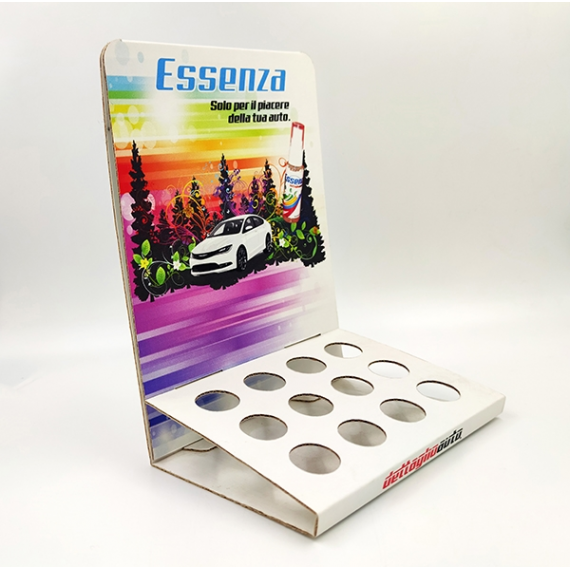 Counter display with 12 hole for Essenza DettaglioAuto