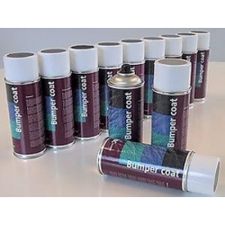 Spray kit colours for leather and plastic