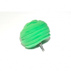 Foam polishing ball