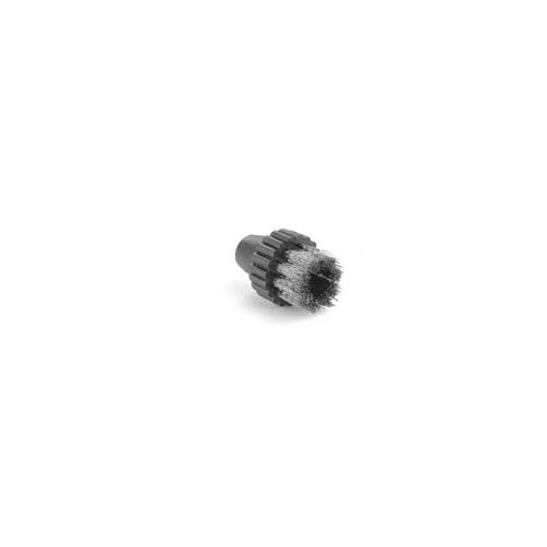 Small round brush with Brass bristles