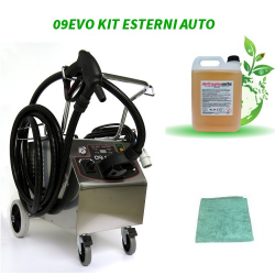 Kit 09EVO for car exteriors steam cleaning